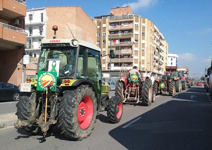 Los productores agrícolas salen a las calles y el ministro Planas anuncia la modificación de la Ley de la Cadena