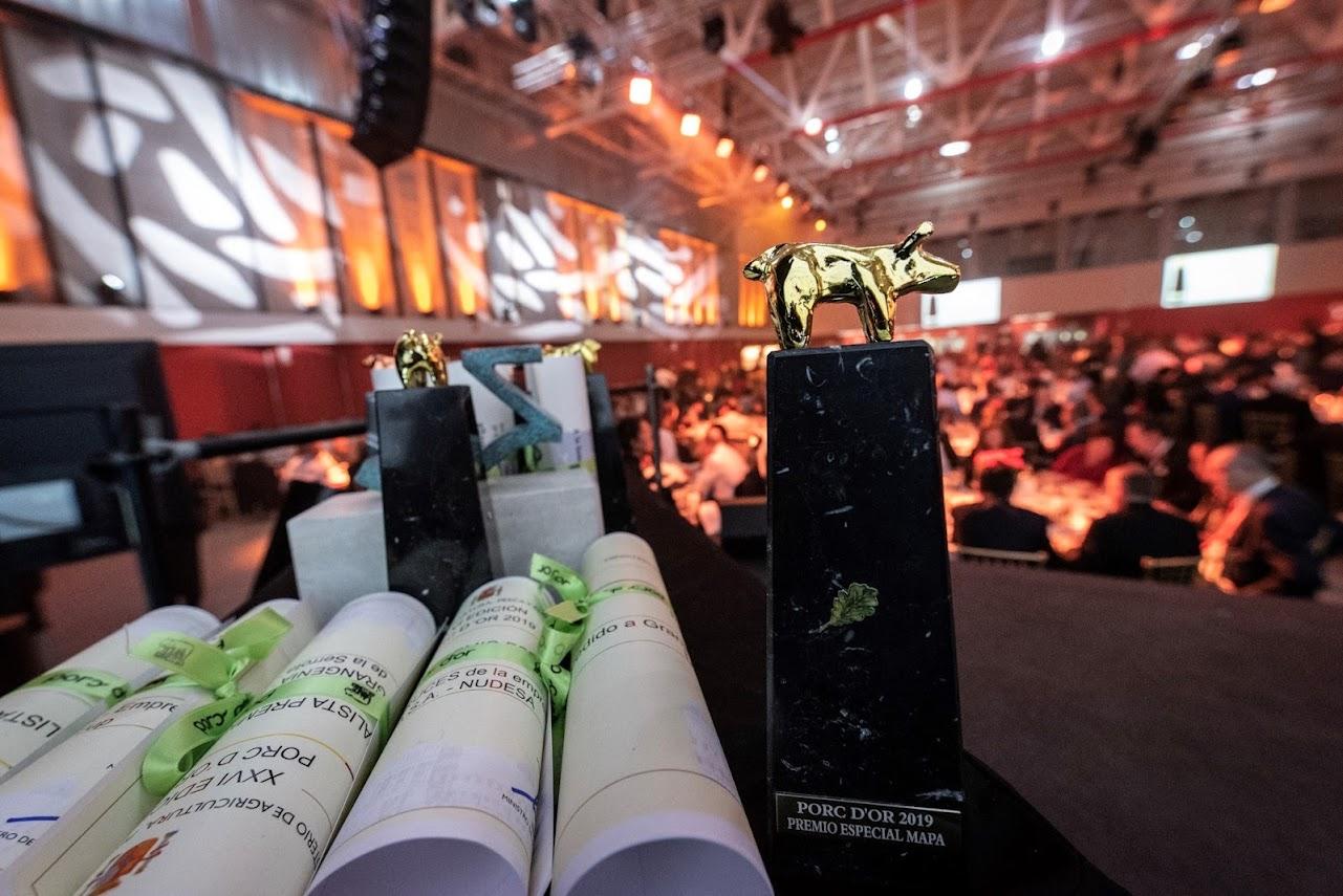 Unas 150 granjas de porcino se disputan los premios Porc d'Or 2021